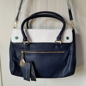 Tommy Hilfiger large cross body bag navy